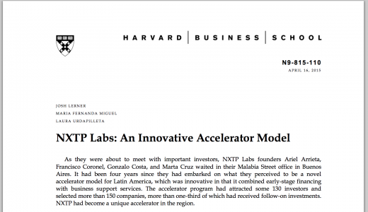 NXTP Labs is a case study at Harvard Business School | Ariel