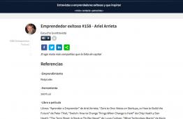 Vidapreneur Podcast Ariel Arrieta